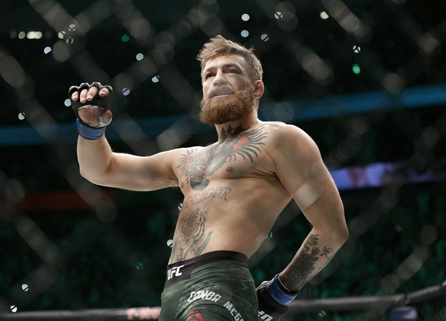 Conor McGregor gör comeback.