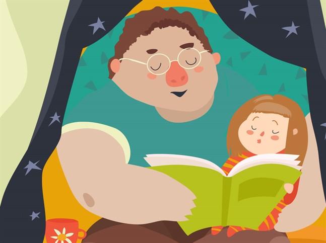 """""""Det här är den tid på dagen när vi bara har varandra och boken. Ingenting annat stör"""", skriver en förälder."""