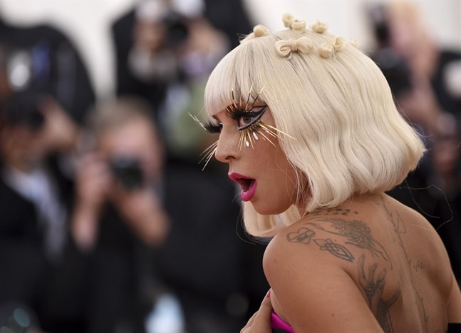 Lady Gaga. Arkivbild.