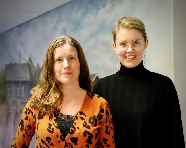De ekonomiska samarbetsförhandlingarna tog slut bara veckor innan budgetförslaget blev klart. Kommundirektör Jenny Malmsten och ekonomichef Cecilia Raunio säger att budgetarbetet gått bra trots det. Förhandlingsresultatet syns i budgeten.