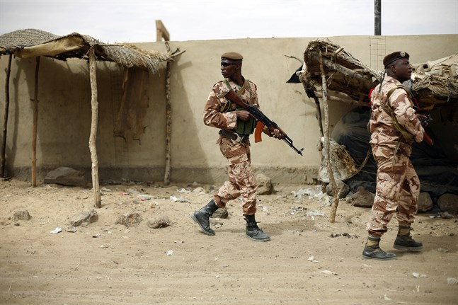 Maliska soldater i Gao. Arkivbild, personerna på bilden har inte direkt med texten att göra.