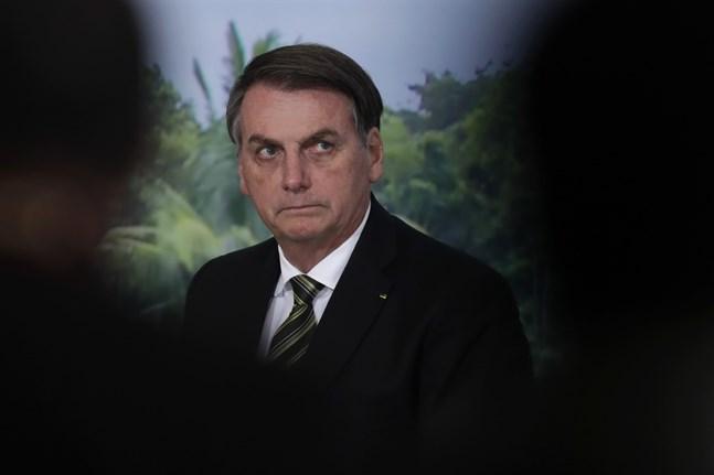 Brasiliens president Jair Bolsonaro. Arkivbild.