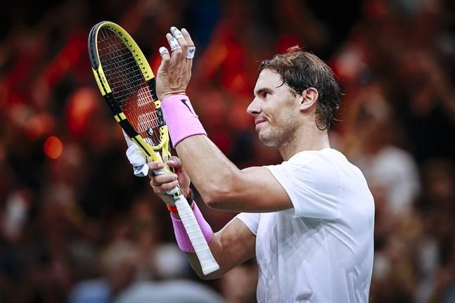 Rafael Nadal, världsetta igen.