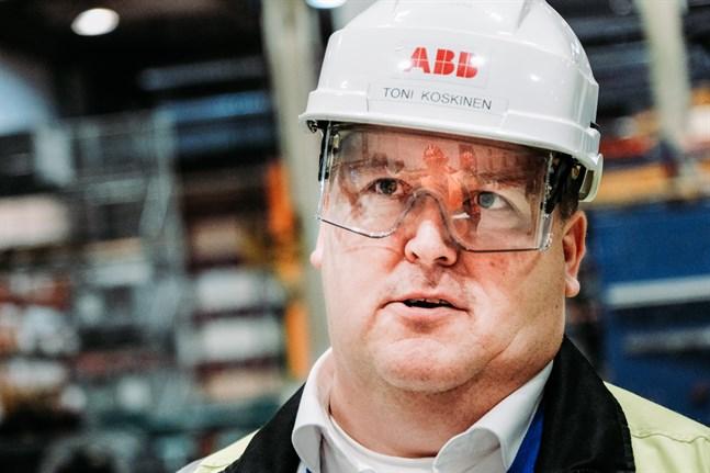 Toni Koskinen är nöjd, Vasafabriken får mera jobb.