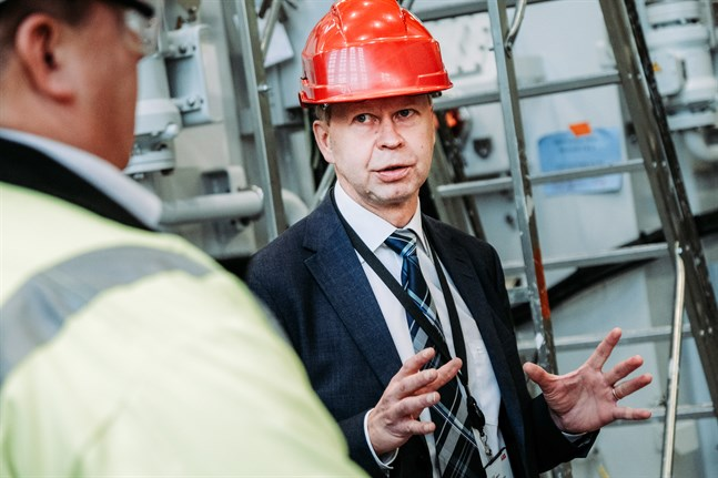 Matti Vaattovaara är nöjd över att det görs en betydande investering i Vasa.