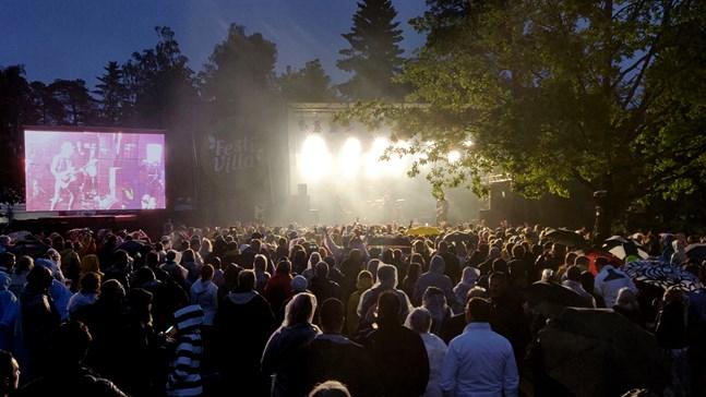 Festivilla och Rockperry arrangeras i Sandviksparken.