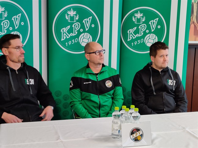 Henri Myntti, Matti Laitinen och Niko Kalliokoski i november 2019.