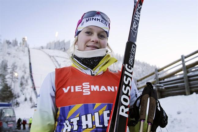 Andrea Mulin var nionde totalt och femte bästa finländska vid FIS-sprinten i Olos.