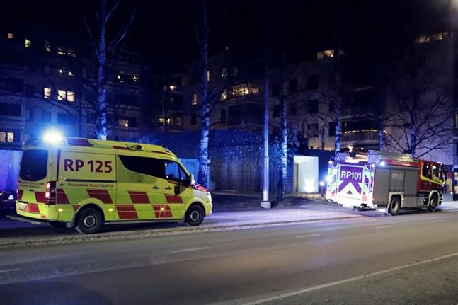 Händelsen inträffade i närheten av korsningen mellan Skolhusgatan och Kaserngatan.