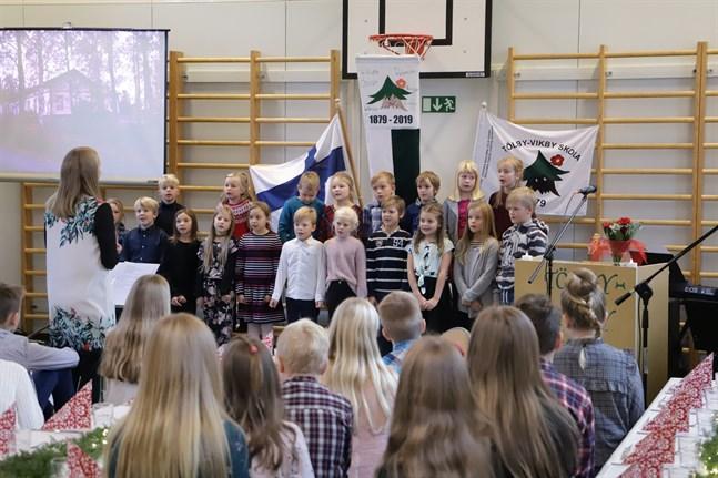 Tölby-Vikby skola firade sitt 140-årsjubileum i fjol.