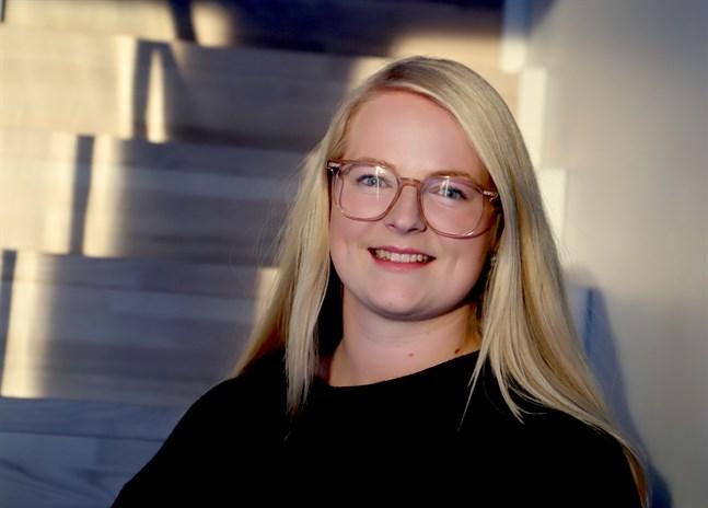Sandra Sund i Smedsby bubblar av kreativitet.