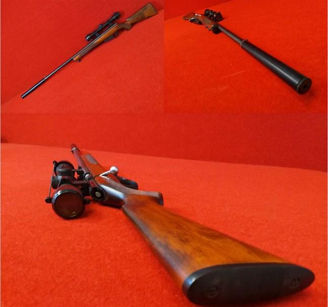 Det var den här typen av miniatyrgevär som tjuvskyttarna använde.