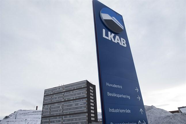 En brand har brutit ut i LKAB:s gruva i Kiruna. Arkivbild.