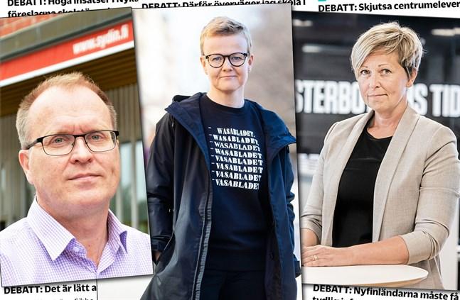 Mats Ekman, Nina Dahlbäck, Ann-Sofi Berger.