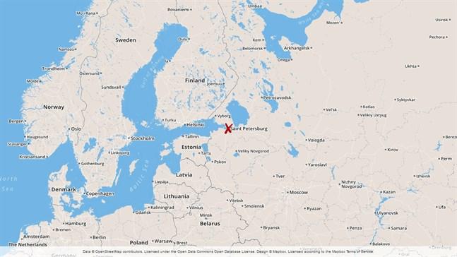S:t Petersburg i Ryssland.