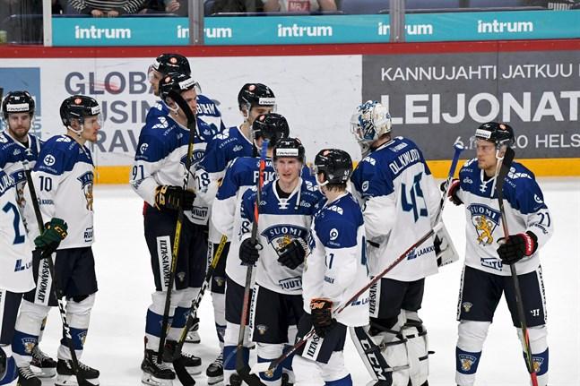 Lejonen fick på nosen i Helsingfors.