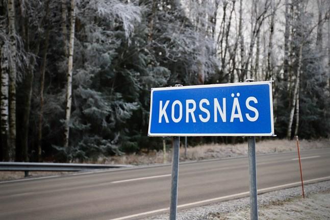 På tisdagen kom Korsnäs med på listan över kommuner med minst fem konstaterade coronafall.