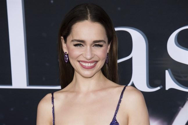"""I spelfilmen """"Last Christmas"""" fick Emilia Clarke äntligen chansen att vara rolig. Arkivbild."""