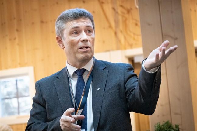 Vesa Riihimäki beskriver Konecranes som en partner av världsklass.