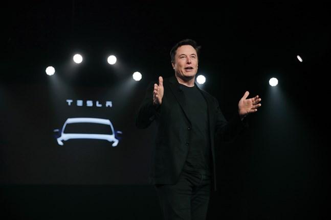 Teslas vd Elon Musk. Arkivbild.