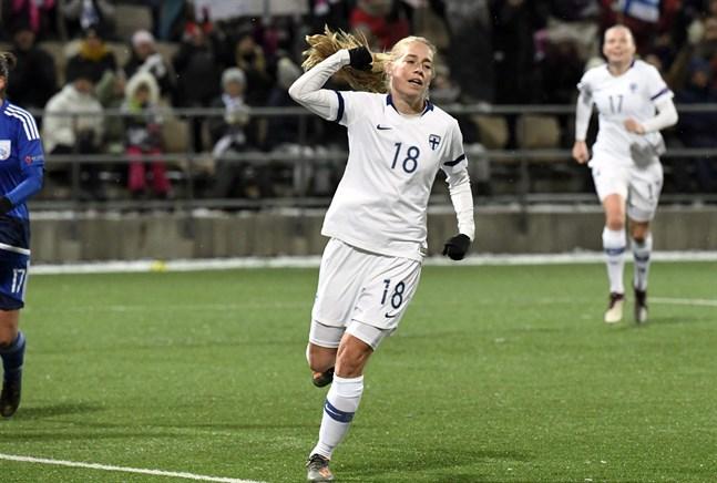 Blir det fler landslagsmål för rekorddamen Linda Sällström mot Portugal i kväll?
