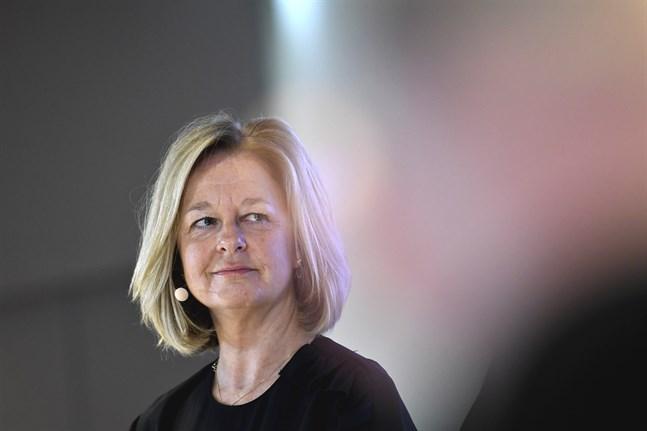 Telia leds för närvarande av den tillförordnade koncernchefen Christian Luiga, tills det att Allison Kirkby (bilden) tillträder våren 2020.
