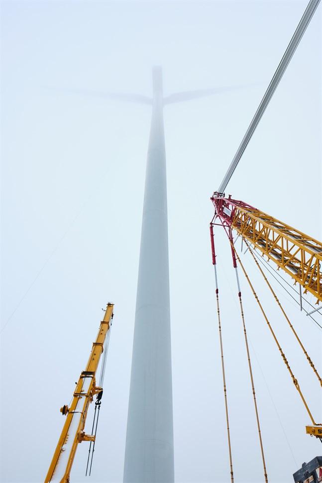 I Långmossa finns de högsta turbinerna som Ikea äger.