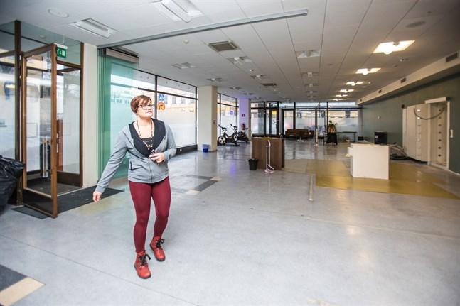 Christel Viitanen förverkligar en dröm då hon öppnar ett gym i Karleby efter årsskiftet.