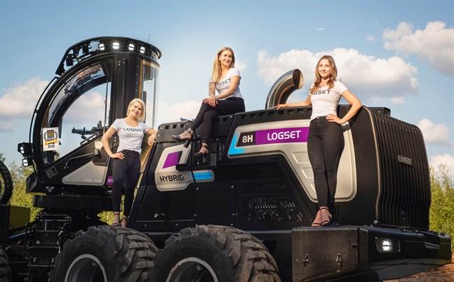 Logset Girls, det är den engelska benämningen för kvinnorna som syns i marknadsföringen som inkastare, enligt Kia Lettelin.