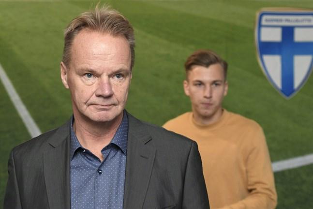 U21-landslagets chefstränare Juha Malinen och mittfältaren Lucas Lingman kammade noll i Rumänien.