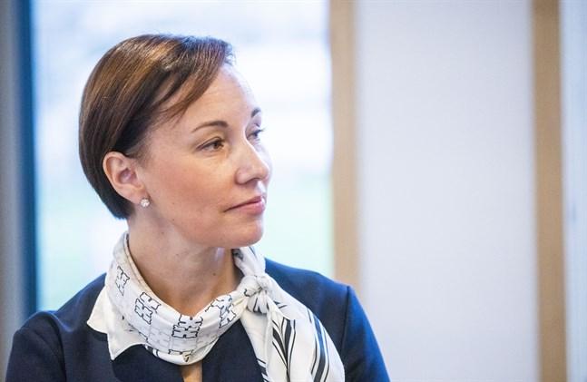 Maria Östergård Käld jobbar med att ta hand om kundernas pengar och få dem att växa.