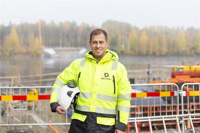 Joachim Östergårds är hemma från Sundom, men bor och arbetar numera i Umeå.