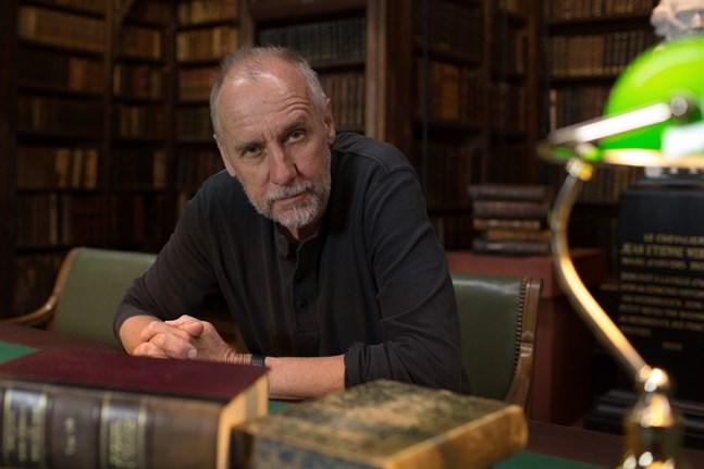 Håkan Nesser arbetade som högstadielärare i Uppsala innan han blev författare på heltid.