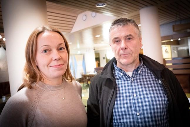 Johanna häggman och Mårten lövdahl fick reda på för cirka ett år sedan att Vörå skulle få vara värd för mästerskapen.