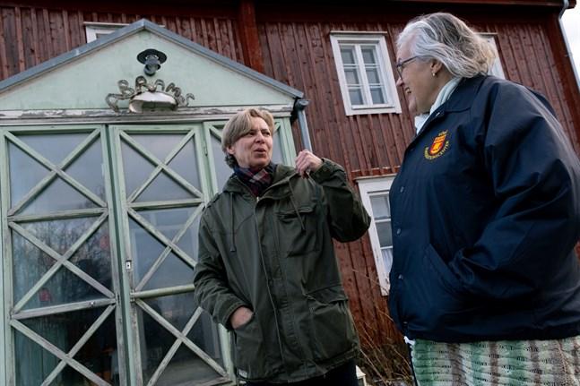 Eva-stina Byggmästar och Marja-lena södergård ser fram emot samarbetet.