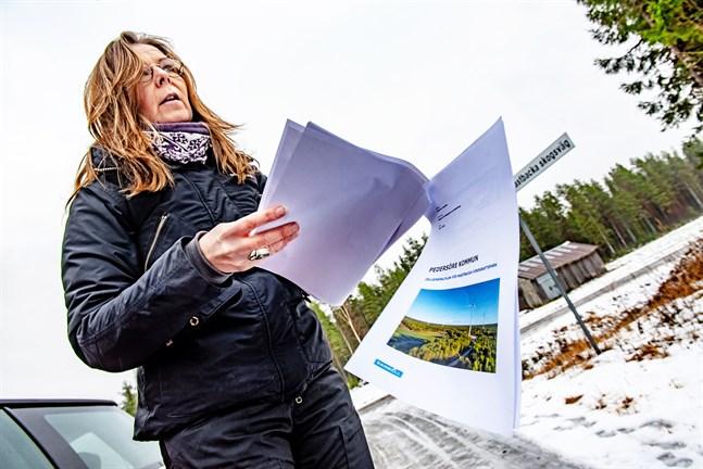 Bra vindförhållanden och högt beläget är två orsaker varför Etha Wind vill etablera sig vid Mastbacka, enligt Pedersöre kommuns planläggare Anna-Karin Pensar. Därtill var det på markägarnas initiativ.