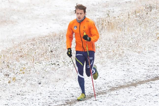 Alexander Ståhlberg fick vänta länge innan han kunde börja löpträna inför den här säsongen. Han drabbades av en stressfraktur i våras.