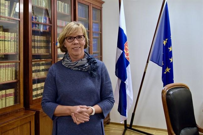Justitieminister Anna-Maja Henriksson (SFP) anser att fredsorganisationerna främjar demokratin och de mänskliga rättigheterna.