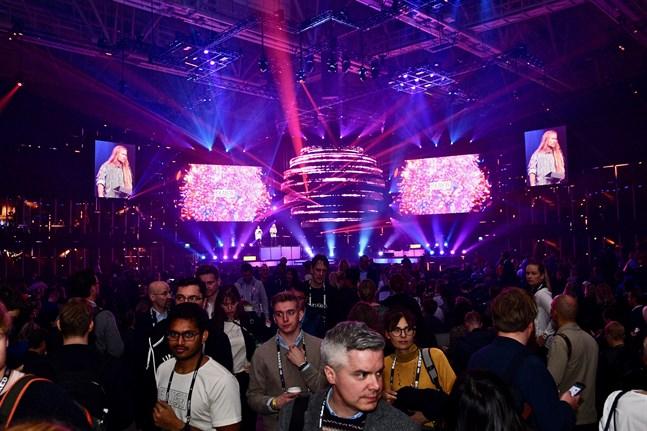 Slush 2019 drog i gång på torsdagen i Helsingfors. Uppstartsmässan samlar företag från hela världen.