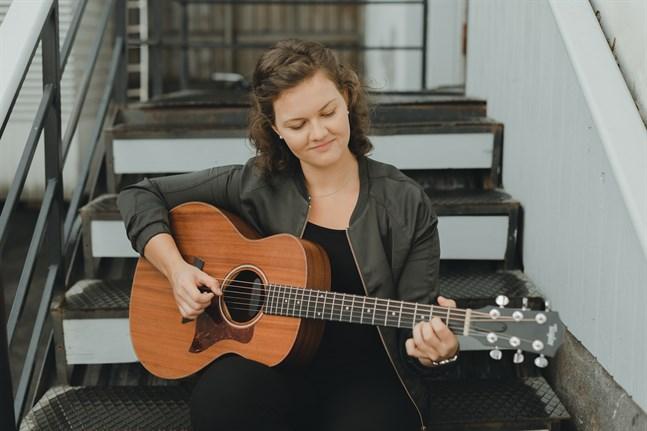 Sofie Lundell vann talangjaktstävling i Helsingfors i går.