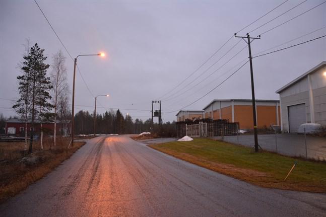 Kristinestad vill ge möjlighet till en utbyggnad av affärs- och industriområdet på Åsändan i Lappfjärd.