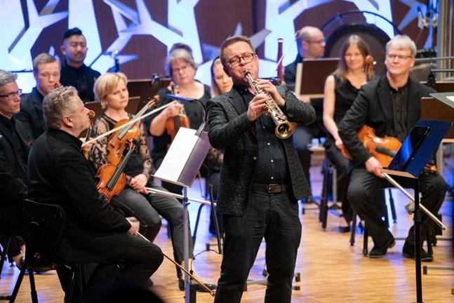 Jukka Perko briljerade stort på sopransaxofon.