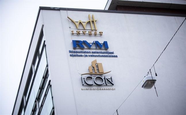 Icon Corporation, nu i rejält blåsväder, har ett kontor i centrum av Vasa.