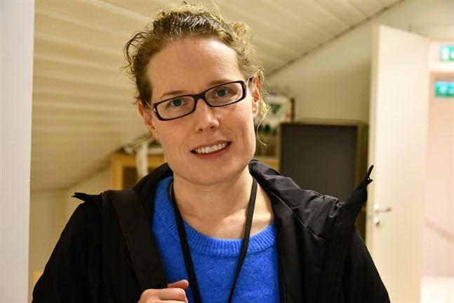 Lotta Kallio är ny chefredaktör på lokaltidningen Suupohjan Sanomat.