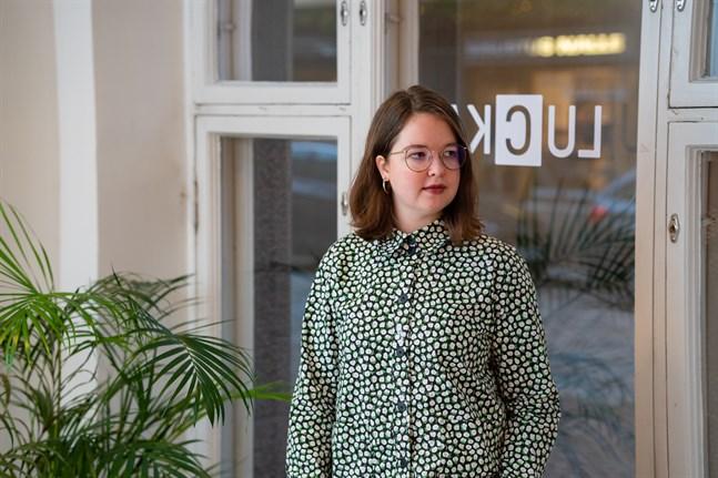Louise Mannill är ungdomsinformatör på Unginfo.
