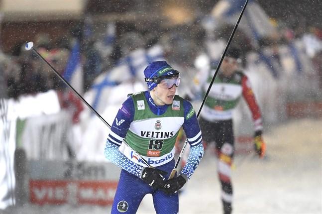 Ilkka Herola var bästa finländare i nordisk kombination med trettonde plats.