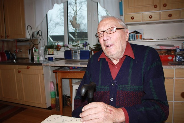 Den värsta dagen under vinterkriget var 23 december 1939 då sju Pörtomgossar dog, säger Verner Sved. Bilden publicerades i SÖ 28.11.2009.