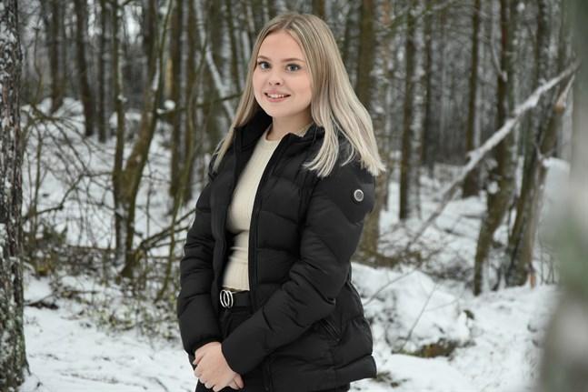 Elin Björklund är Sydösterbottens lucia 2019.