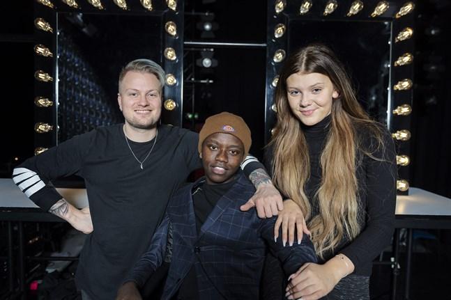 """Freddie Liljegren och Tusse Chiza går till final av TV4:s """"Idol"""". Dao Di Ponziano slutar på en tredjeplats. Arkivbild."""