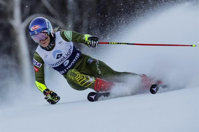Mikaela Shiffrin vann.